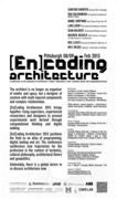[En]Coding Architecture 2013