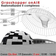 Corso on-line Grasshopper|parametricart
