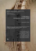 Utzon(x) Architecture Summer School