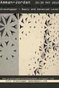 Parametric Modeling Workshop with Grasshopper -  Amman - Jordan