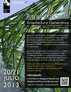 Workshop Arquitectura Generativa