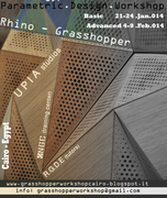 Parametric Modeling Workshop with Grasshopper -  Cairo - Egypt