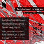 Workshop Arquitectura Generativa 5ta. Edición