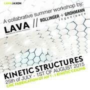 LAVA & Bollinger + Grohmann - Kinetic Structures workshop