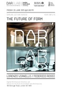 THE FUTURE OF FORM