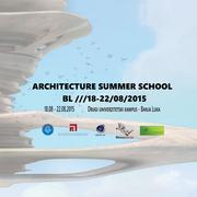 ARCHITECTURE SUMMER SCHOOL BL ///18-22/08/2015