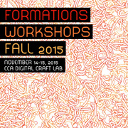 FORMATIONS Workshops @CCA