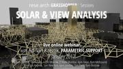 Solar & View analysis: rese arch Grasshopper Webinar