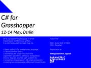 C# for Grasshopper