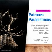 """Aprende Grasshopper """"Patrones Paramétricos"""" -  Verano 2017"""