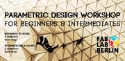 Parametric Design Workshop (Rhino + Grasshopper)