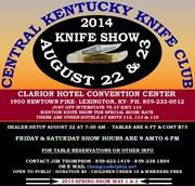 KNIFE SHOW, CENTRAL KY KNIFE CLUB
