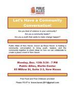 New Haven Community Conversation