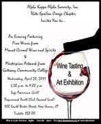 Wine Tasting & Art Exhibit
