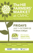 Hill Farmers' Market at CMHC Opening Day & Lettuce Toss