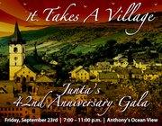 It Takes A Village:  Junta's 42nd Anniversary Gala