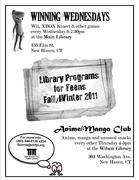 Fall/Winter programs for teens