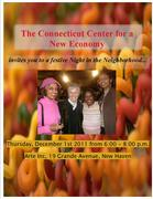 Night in the Neighborhood - a party to benefit the CT Center for a New Economy