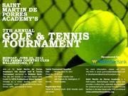 St. Martin de Porres Academy's 7th Annual Golf & Tennis Tournmanet