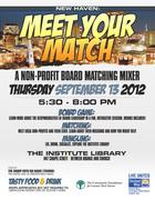 Meet Your Match: A Non-Profit Board Matching Mixer