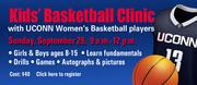 UCONN Women Kid's Basketball Clinic