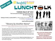 """LunchTALK! - """"Slavery by Another Name"""""""