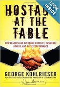 Conflict/Leadership Book Club February 2014: Hostage at the Table
