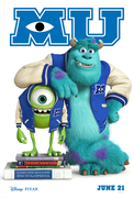 Monster's University screening - President's Day Vacation Programming (K-8)