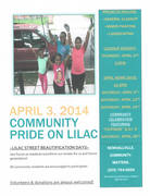 Community Pride on Lilac Street Workdays-