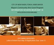 Mayors Community Arts Grant Program Information Session