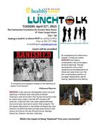 "LunchTalk Series - ""Banished"""