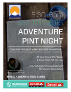 Adventure Pint Night