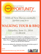 Walking Tour with Jim Paley (Executive Director of NHS of New Haven)