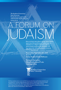 A Forum on Judaism