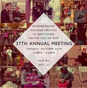 NHS of New Haven's 37th Annual Meeting