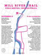 Mill River Trail Public Meeting