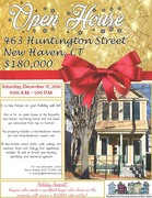 Open House! 463 Huntington Street, New Haven