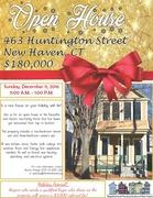 Open House! 463 Huntington Street, New Haven