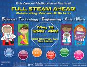 FULL STEAM AHEAD: Celebrating Women & Girls in S.T.E.A.M (Family Festival)