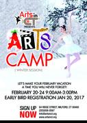 The Winter Arts Camp!