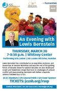 An Evening with Lewis Bernstein