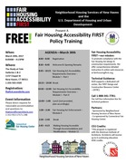 Fair Housing Accessibility FIRST Policy Training (FREE!)