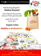 """The """"Art"""" of Couponing Workshop"""