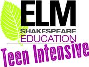 Elm Shakespeare Teen Intensive