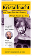 'Kristallnacht and Escape from Nazi Germany Through the Eyes of a Child'
