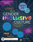 Living in a Gender Inclusive Culture: Parenting, Pronouns, Sexuality, and more!