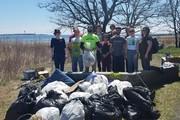 Clean up at Long Wharf Nature Preserve