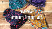 """Pat's Hats"" Community Crochet Event"