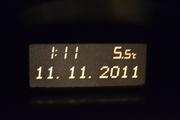 My car's clock!