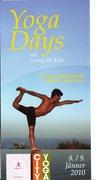 Yoga Days - mit Young-Ho Kim